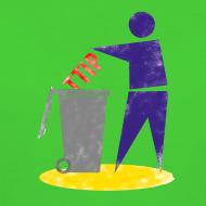 Motiv ~ TTIP in die Tonne (Bio, Girly)