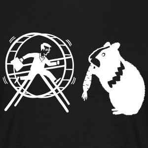 HamHam, out of the hamster wheel :) - Camiseta hombre
