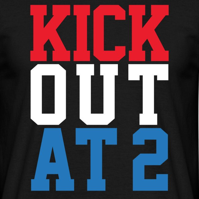 Kick Out At 2 (Men)