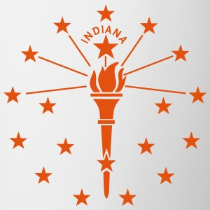 State of Indiana Bottles & Mugs - Mug