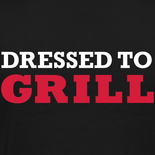 Dressed to grill tot 5XL heren