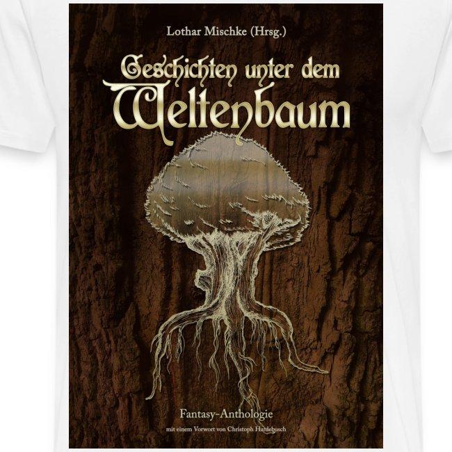 Weltenbaum farbig  (T-Shirt Männer)