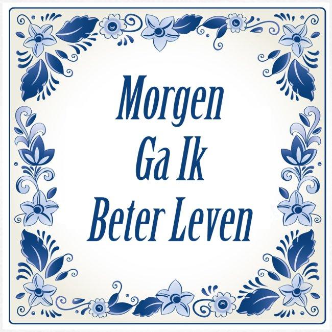 Delfts-blauw - voor & achter