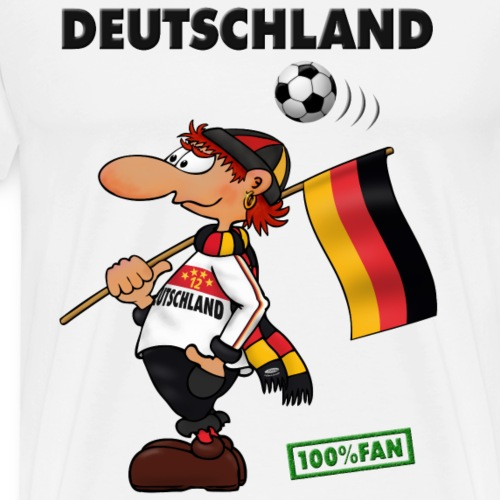 Fan Deutschland White&Red