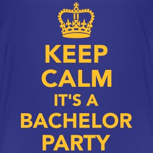 Keep calm it's a bachelor party T-Shirts - Kinder Premium T-Shirt