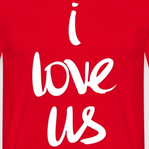 I love us (dark) T-Shirts - Men's T-Shirt