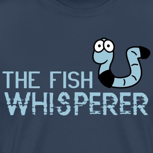 The fish whisperer Camisetas - Camiseta premium hombre