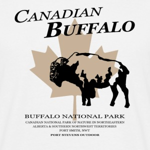 Bison - Buffalo - Canada T-Shirts - Men's T-Shirt