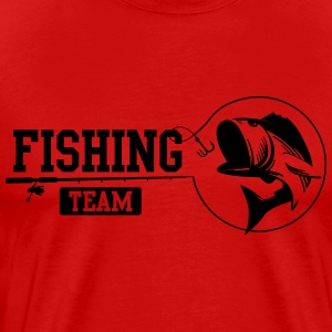 Fishing Team T-shirts - Mannen Premium T-shirt