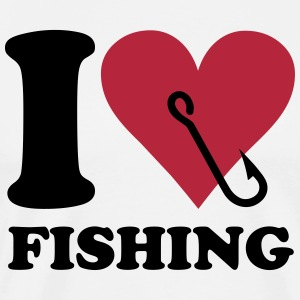 I love fishing Tee shirts - T-shirt Premium Homme