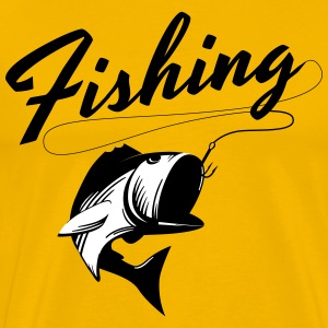 Fishing T-Shirts - Men's Premium T-Shirt