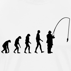Evolution fishing T-Shirts - Männer Premium T-Shirt