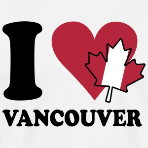 I love vancouver Tee shirts - T-shirt Premium Homme