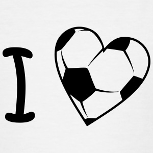Football / soccer I love Shirts - Teenage T-shirt