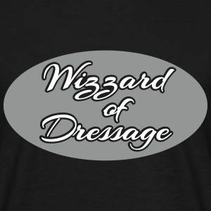 Wizzard of Dressage - Oval T-Shirts - Männer T-Shirt