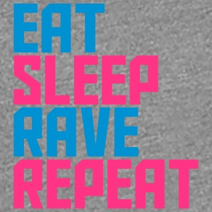 Eat Sleep Repeat Rave Party Design T-Shirts - Women's Premium T-Shirt