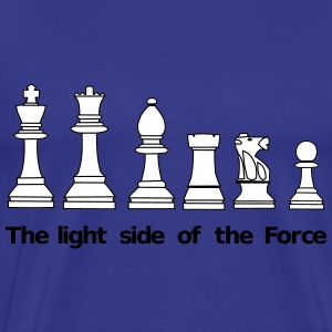 The Light Side of the Force T-skjorter - Premium T-skjorte for menn