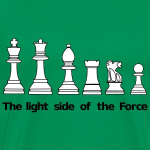 The Light Side of the Force T-Shirts - Männer Premium T-Shirt