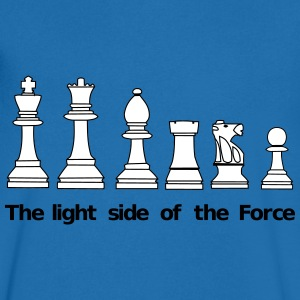 The Light Side of the Force Camisetas - Camiseta de pico hombre