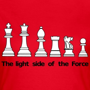 The Light Side of the Force Camisetas - Camiseta mujer