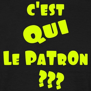 le_patron_2 Tee shirts - T-shirt Homme