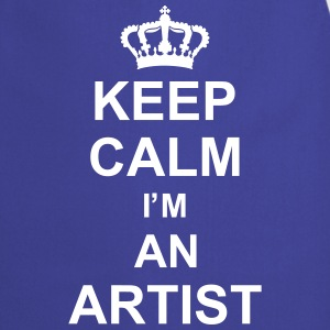 keep_calm_I'm_an_artist_g1  Aprons - Cooking Apron