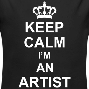 keep_calm_I'm_an_artist_g1 Sweats - Body bébé bio manches longues