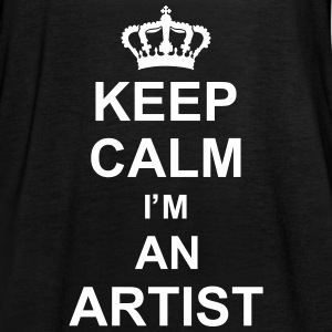 keep_calm_I'm_an_artist_g1 Tops - Women's Tank Top by Bella