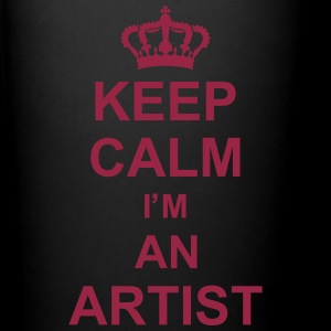 keep_calm_I'm_an_artist_g1 Kopper & flasker - Ensfarget kopp