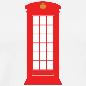 British Phone Box T-Shirts - Men's Premium T-Shirt