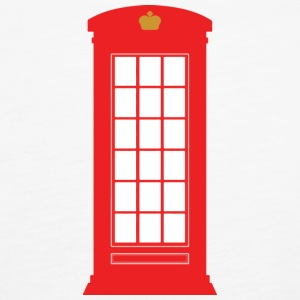 British Phone Box Tops - Women's Premium Tank Top