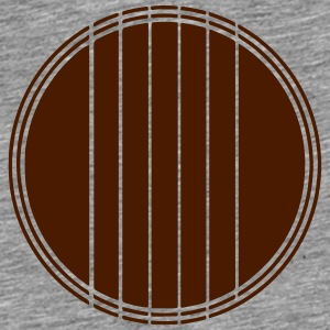 Abstract Acoustic Guitar T-Shirts - Men's Premium T-Shirt