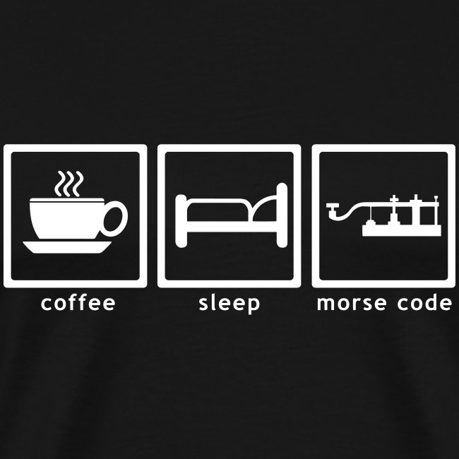 coffee - sleep - morsecode