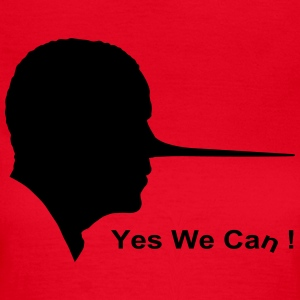 Yes we can Camisetas - Camiseta mujer