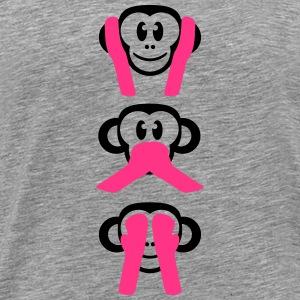 suchbegriff die 3 weisen affen t shirts spreadshirt. Black Bedroom Furniture Sets. Home Design Ideas