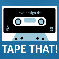 Motiv ~ Tape That - Frauen Girlie
