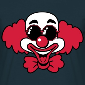 Clown laugh funny funny sunglasses T-Shirts - Men's T-Shirt