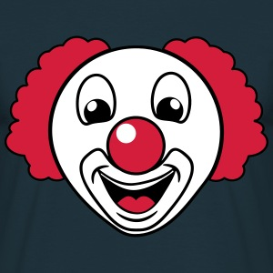 Clown lachen lustig T-shirts - Mannen T-shirt