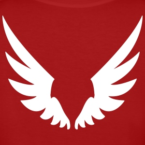Flügel, Wings T-shirts - Vrouwen Bio-T-shirt