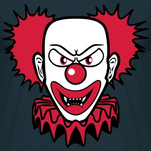 Clown evil gfährlich T-Shirts - Men's T-Shirt