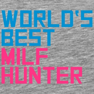 Worlds Best Milf Hunter T-shirts - Premium-T-shirt herr