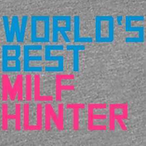 Worlds Best Milf Hunter T-shirts - Premium-T-shirt dam