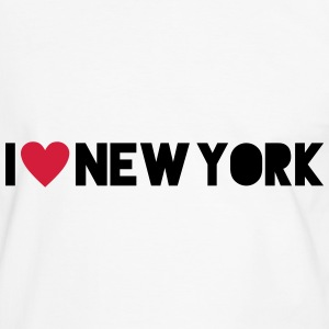 I Love New York Tee shirts - T-shirt contraste Homme