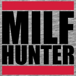Milf Hunter Cool Logo T-Shirts - Men's Premium T-Shirt