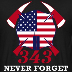 Never Forget 9/11  - Männer T-Shirt