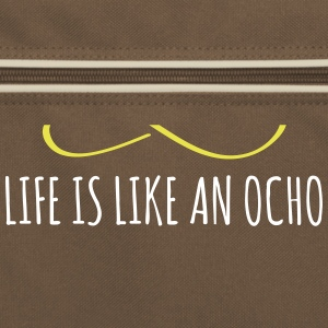 Life is like an ocho Bags & Backpacks - Retro Bag