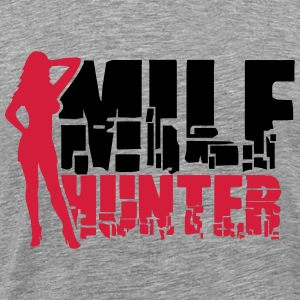 Sexy Milf Hunter Logo T-Shirts - Men's Premium T-Shirt