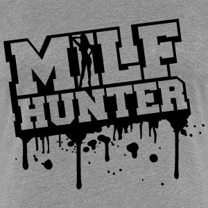 Sexy Milf Hunter conception de graffiti Tee shirts - T-shirt Premium Femme