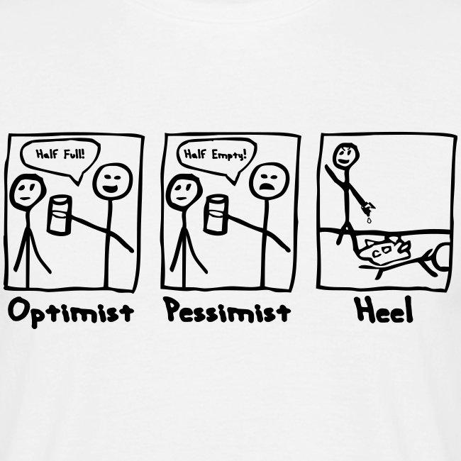 Optimist Pessimist Heel (Men)