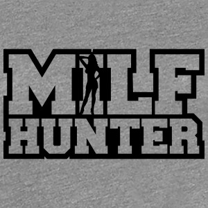 Sexy Milf Hunter Conception Tee shirts - T-shirt Premium Femme